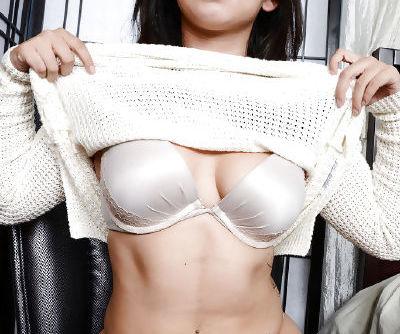 Teenager Latina Stephanie Saint is getting pleasure while masturbating