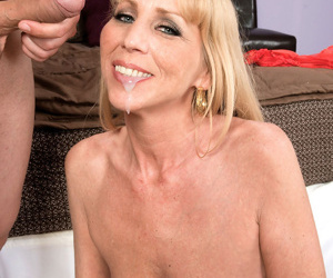 Older lady Phoebe Page does anal sex with the neighbours boy