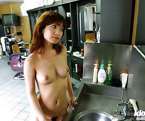 Stunning asian babe An Nanba showcasing her fuckable body