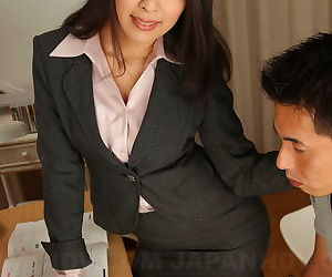 Horny Japanese teacher Ichika Aimi gives her male student private tutoring