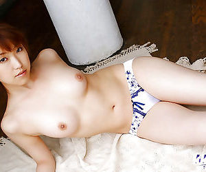 Sweet asian amateur with hairy slit slipping off her clothes