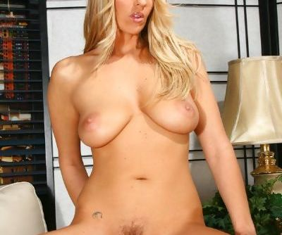 Busty MILF Jordan Kingsley spreads pussy hungry for fucking