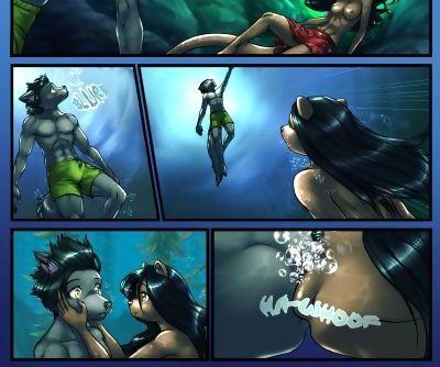 Dark Blue Comics The Depths