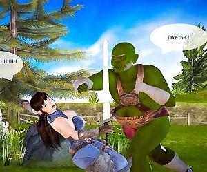 Orcs Finds a New Pet 1-2