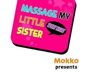 I Massage My Sister Every Night Ch 1-38 - part 2