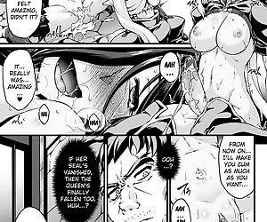 Kuroinu ~Kedakaki Seijo wa Hakudaku ni Somaru~ THE COMIC - part 9