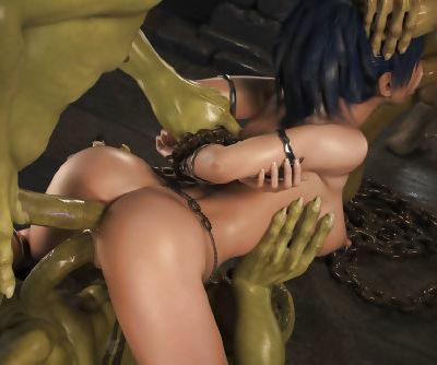 Elven Desires - Dungeon Origins - part 6