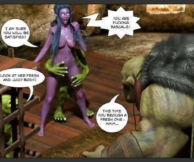 Tyrande in Trouble - Part 2 - part 3