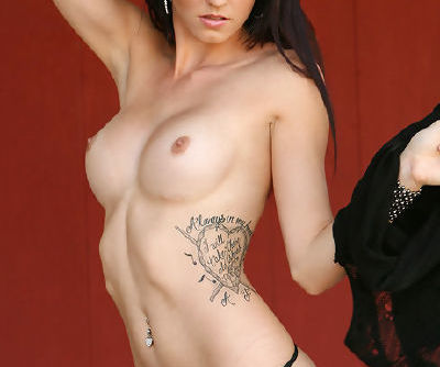 Insolent brunette is naughty and needy to play solo during her show