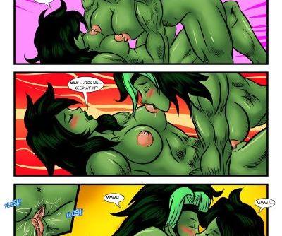 X-Men- Sexy Moments