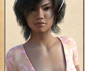 3D- Female Shapeshift