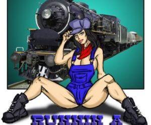 illustrated interracial- Runnin A Train 1