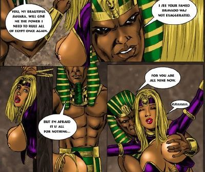 9SuperHeroine- Sahara 2 The Mummy