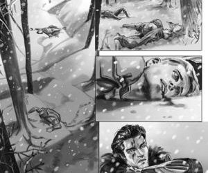 Lost In The Snow - part 9