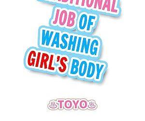 Traditional Job of Washing Girls Body - part 9
