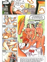 Teenie lesbians strapon orgy