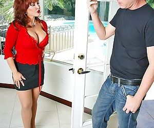 Big titted mommy sexy vanessa getting her pussy fucked - part 86