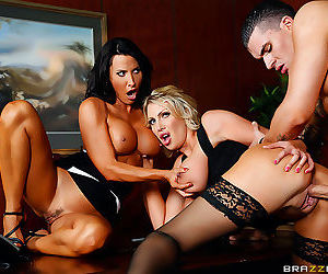 Get ready, because youre about to see two of the finest, fittest milfs in the b - part 2523