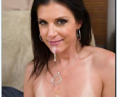 Kicky MILF India Summer gets shafted hard and facialized by a younger lad - part 2