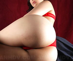 Phenomenal Japanese babe Mayumi Takara shows her tiny tits and juicy ass