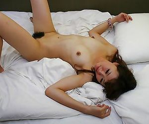 Horny asian MILF gives a blowjob with ball licking and gets shagged hard