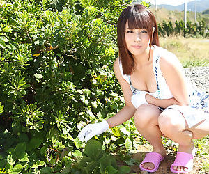 Japanese bimbo wife of outdoor affair game - part 4076