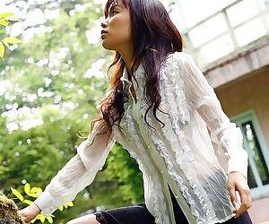 Asian yua aida strips outdoors shows her nice tits - part 2483