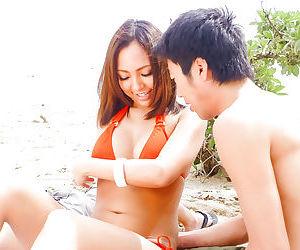 Erotic japanese sex on the beach - part 4204
