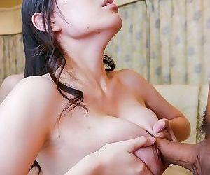 Busty asian sofia takigawa in a threesome mmf fuck - part 693