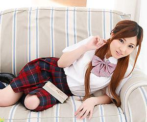 Japanese schoolgirl sucking hard cock and creampied - part 4116