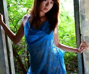 Japanese slut risa misaki poses outdoors shows ass - part 3832