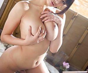 Young asian hana haruna washing her big tits - part 1216