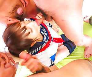 Ai mizushima goes nasty during rough asian gang bang - part 3996