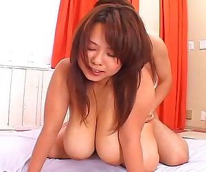 Japanese av idol with huge big tits in hardcore action - part 4704