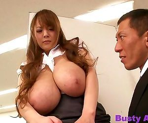 Very large breasted hitomi tanaka at the office - part 4216