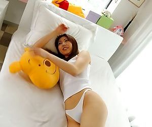 Naughty japanese cutie jun shows her ass and pussy - part 3621