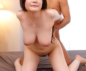 Two cocks and a jizz dripping cunt for a japanese busty babe - part 4101