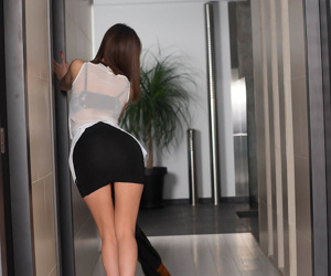 Japanese maid carol vega provides man of house with sexual servi - part 1199