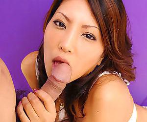 Fresh cumshot in mouth of japanese babe saya - part 4419