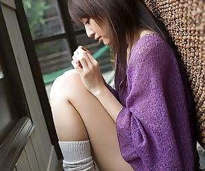 Asian misa shinozaki poses in panties showing tits - part 2064