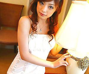 Japanese av idol yume imano in sexy white dress - part 4548