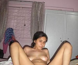 Shaved indian babe nude and spreading at home - part 337