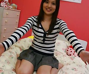 Teen nursing student jerks and rides hard cock - part 4624