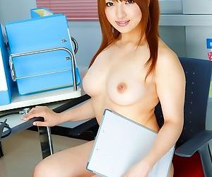 Busty asian nurse shiori kamisaki posing in lingerie - part 4901