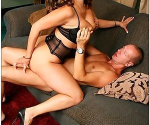 Max mikita gets on her knees and puts a huge cock deep down her throat - part 112