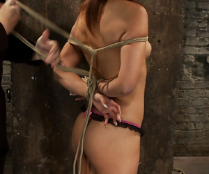Yuki mori japanese girl tied in traditional hogtie - part 3155