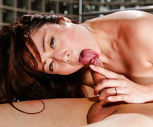 Sexy japanese babe rides cock - part 4849