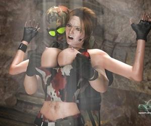 Clara Ravens vs. Mercenaries
