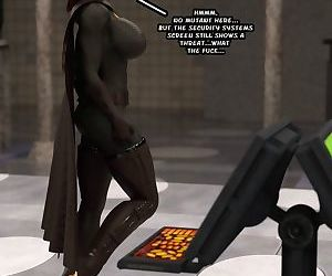 Captured Heroines- The Bat
