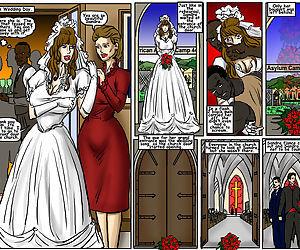 My Wedding GangBang- illustrated interracial